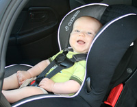7 months in new carseat