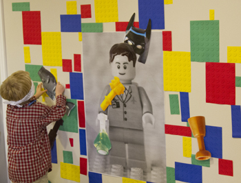 Pin the LEGO Piece